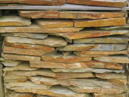 Lajas de piedra de cuarcita